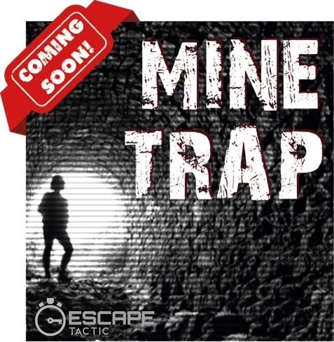 Mine Trap escape room coming soon to Escape Tactic in Charlotte