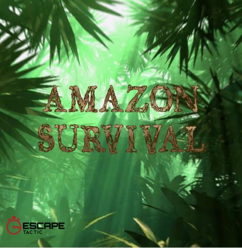 Amazon Survival escape room logo
