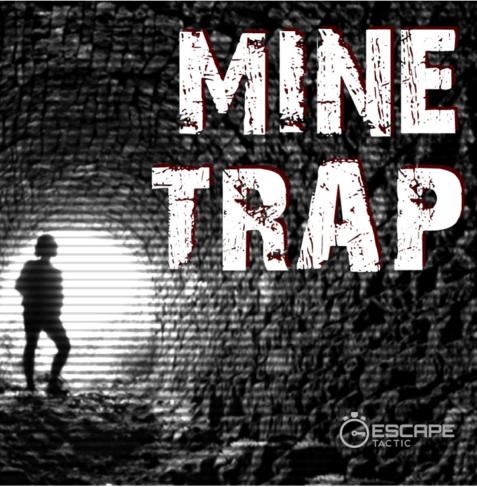 Mine Trap escape room logo
