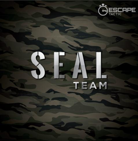 SEAL Team escape room logo