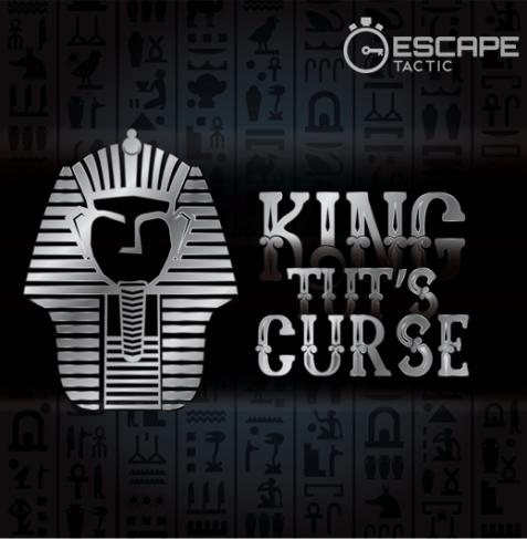 King Tut's Curse escape room logo