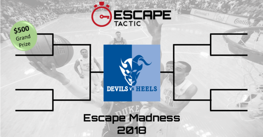 Escape Madness - only @ Escape Tactic!
