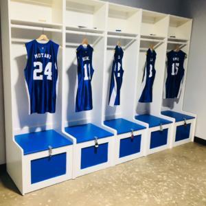 Devils locker room
