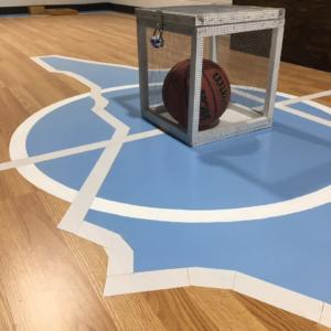 Devils vs Heels court